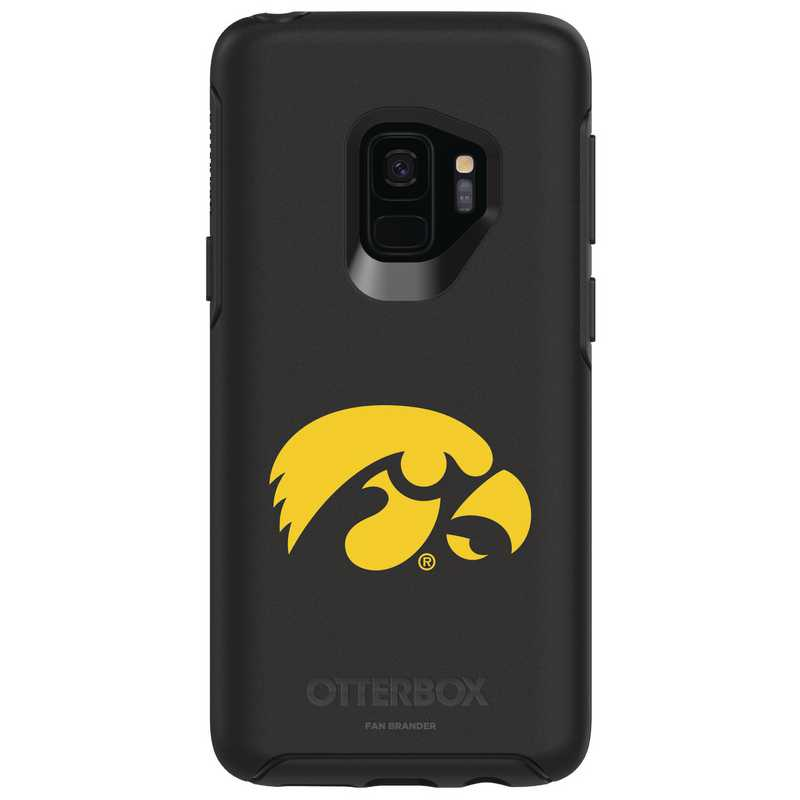 GAL-S9-BK-SYM-UIA-D101: FB Iowa OB SYMMETRY Case for Galaxy S9