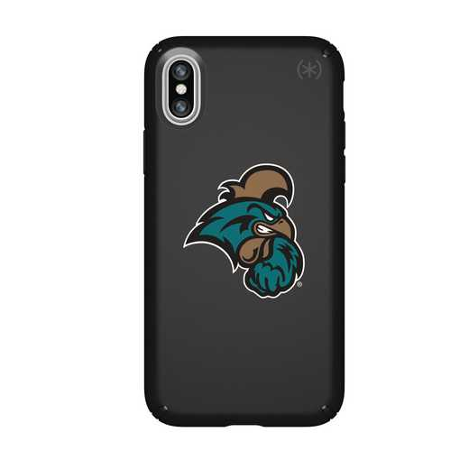 IPH-X-BK-PRE-CCU-D101: FB Coastal Carolina iPhone X Presidio