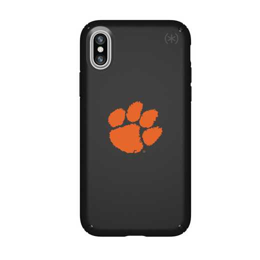 IPH-X-BK-PRE-CL-D101: FB Clemson iPhone X Presidio