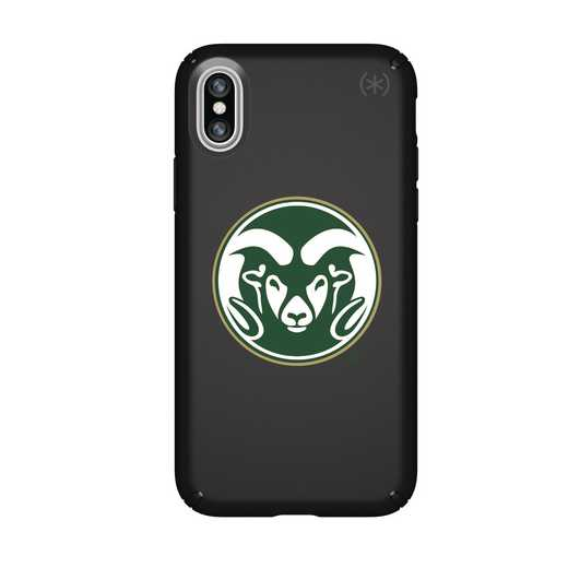 IPH-X-BK-PRE-CSU-D101: FB Colorado St iPhone X Presidio