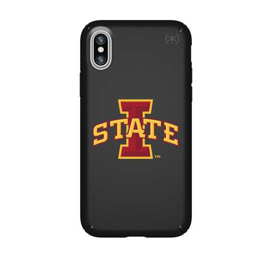IPH-X-BK-PRE-IAS-D101: FB Iowa St iPhone X Presidio