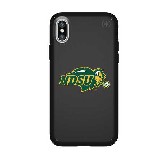 IPH-X-BK-PRE-NDSU-D101: FB North Dakota St iPhone X Presidio