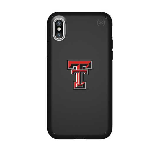 IPH-X-BK-PRE-TT-D101: FB Texas Tech iPhone X Presidio