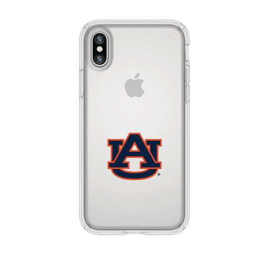 IPH-X-CL-PRE-AUB-D101: FB Auburn iPhone X Presidio Clear