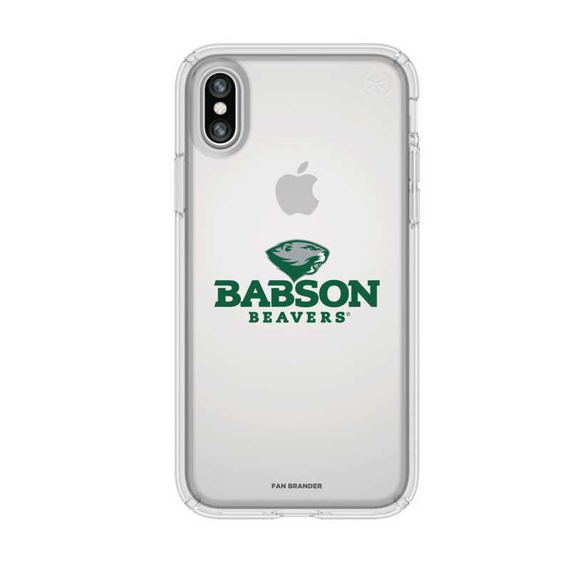 IPH-X-CL-PRE-BAB-D101: FB Babson iPhone X Presidio Clear