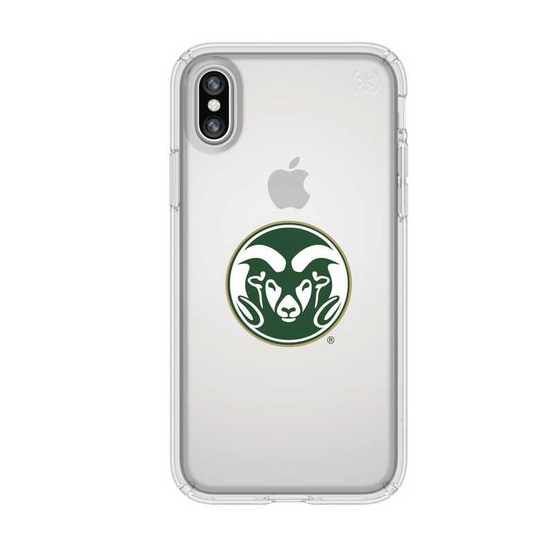 IPH-X-CL-PRE-CSU-D101: FB Colorado St iPhone X Presidio Clear