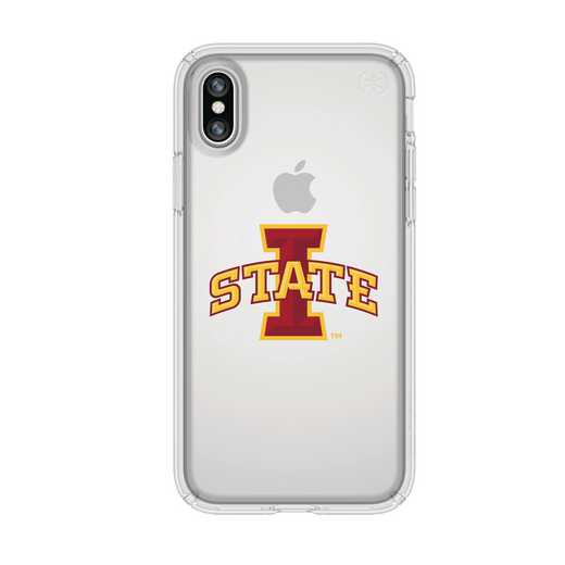 IPH-X-CL-PRE-IAS-D101: FB Iowa St iPhone X Presidio Clear