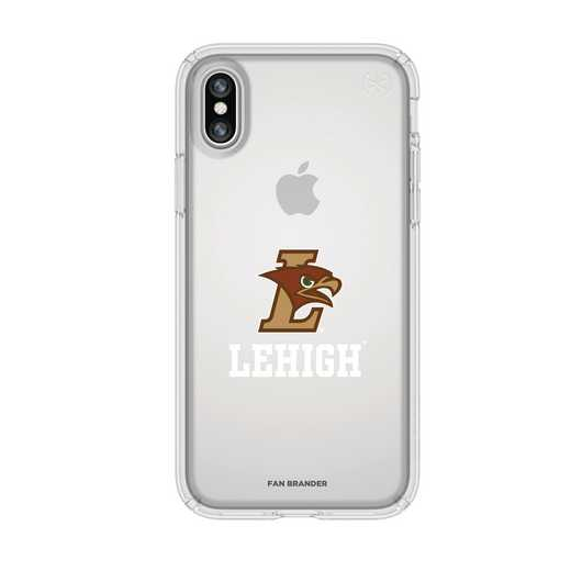 IPH-X-CL-PRE-LEH-D101: FB Lehigh Mountain iPhone X Presidio Clear