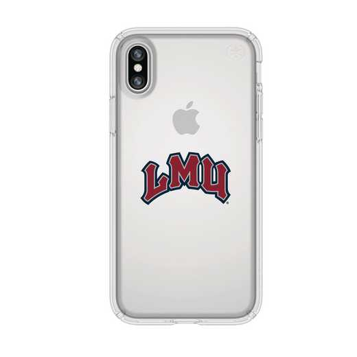 IPH-X-CL-PRE-LMU-D101: FB Loyola Marymount iPhone X Presidio Clear