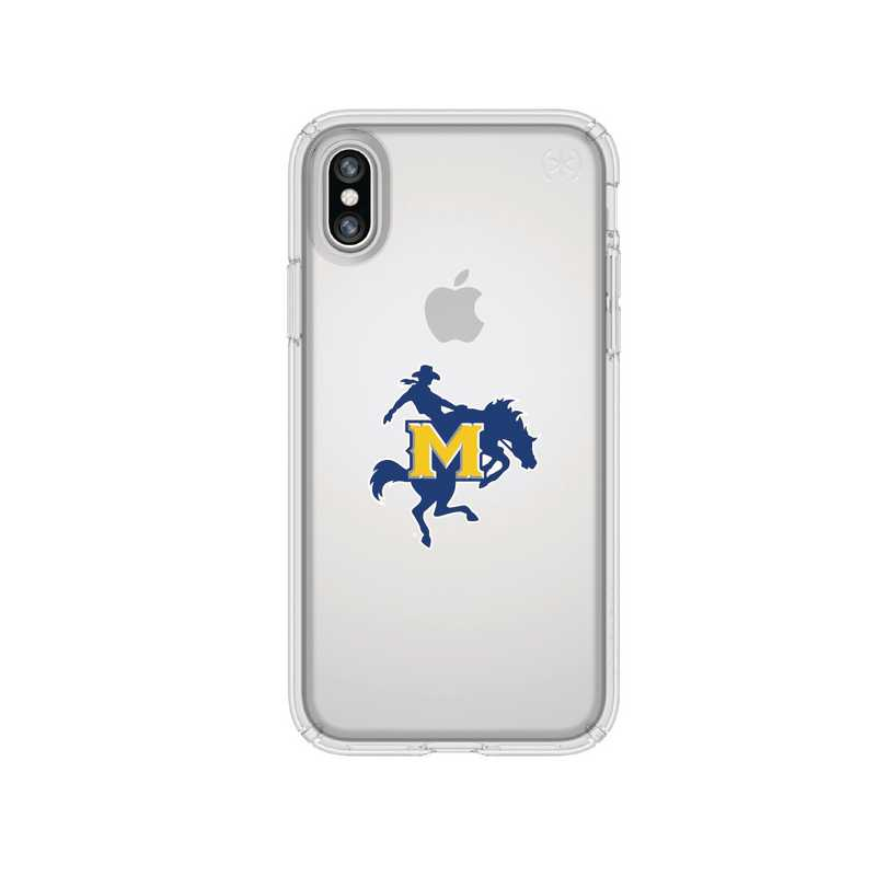 IPH-X-CL-PRE-MNS-D101: FB McNeese St iPhone X Presidio Clear