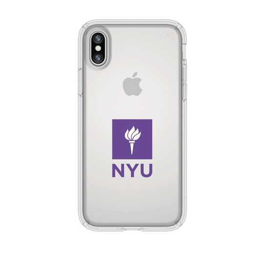 IPH-X-CL-PRE-NYU-D101: FB NYU iPhone X Presidio Clear