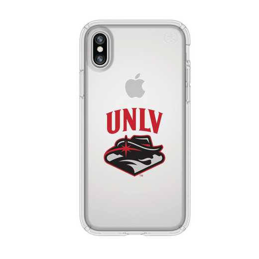 IPH-X-CL-PRE-UNLV-D101: FB UNLV iPhone X Presidio Clear