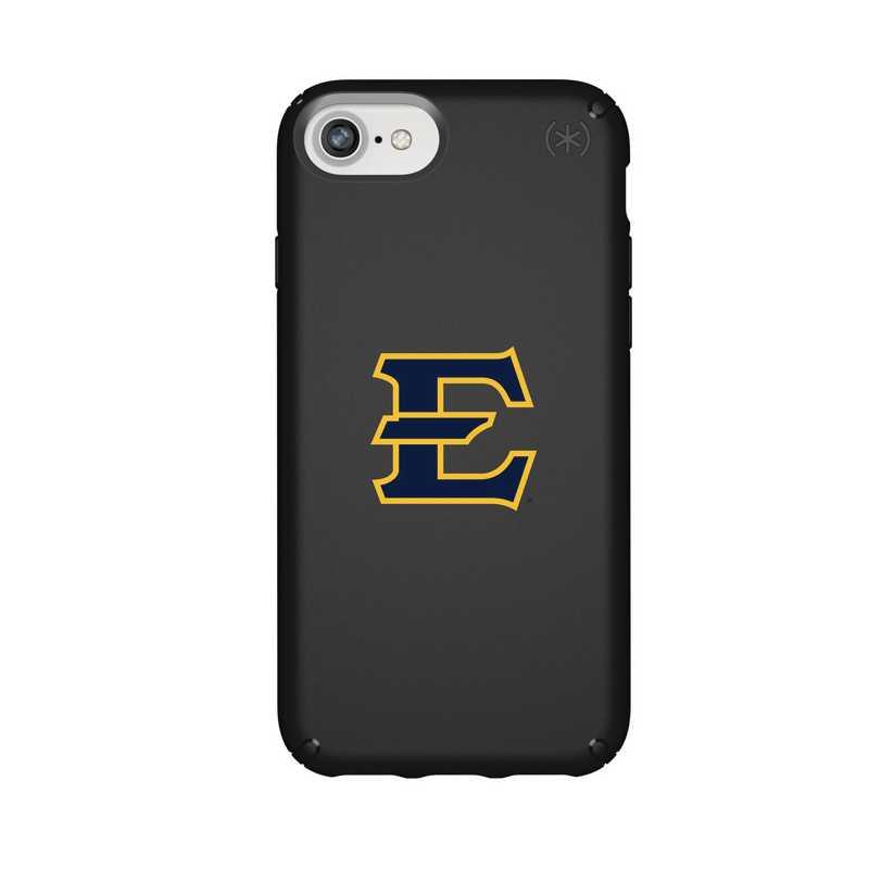 IPH-876-BK-PRE-ETSU-D101: FB Eatern Tennessee St iPhone 8/7/6S/6 Presidio