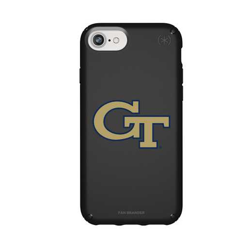 IPH-876-BK-PRE-GT-D101: FB Georgia Tech iPhone 8/7/6S/6 Presidio