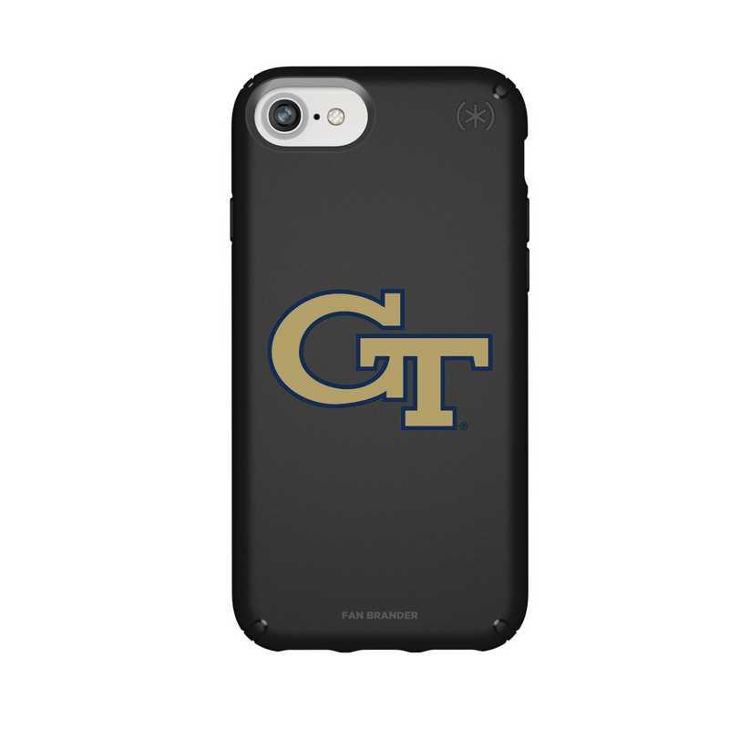 IPH-876-BK-PRE-GT-D101: FB Georgia Tech iPhone 8/7/6S/6 Presidio