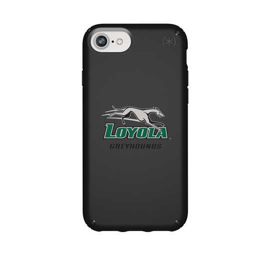 IPH-876-BK-PRE-LUM-D101: FB Loyola Univ Of Maryland iPhone 8/7/6S/6 Presidio