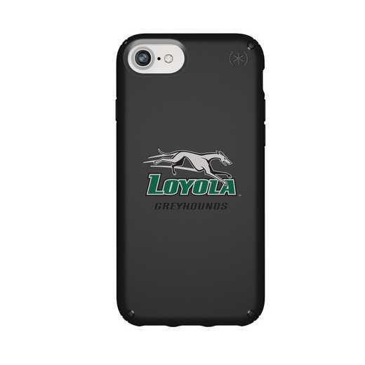 IPH-876-BK-PRE-LUM-D101: FB Loyola Univ Of Maryland iPhone 8/7/6S/6 Presidio