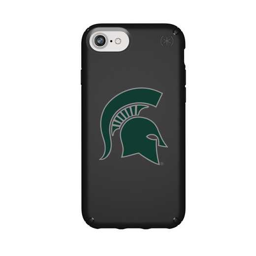 IPH-876-BK-PRE-MCS-D101: FB Michigan St iPhone 8/7/6S/6 Presidio