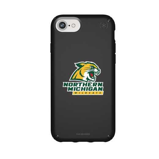 IPH-876-BK-PRE-NOMU-D101: FB Northern Michigan iPhone 8/7/6S/6 Presidio