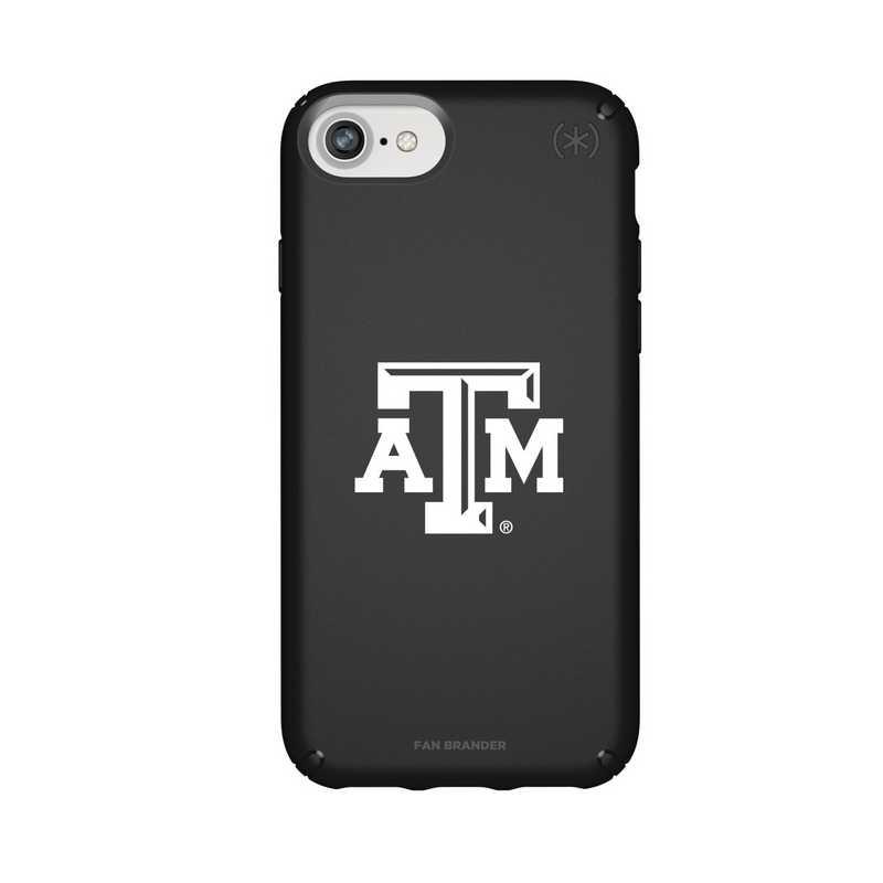IPH-876-BK-PRE-TAM-D101: FB Texas A&M iPhone 8/7/6S/6 Presidio