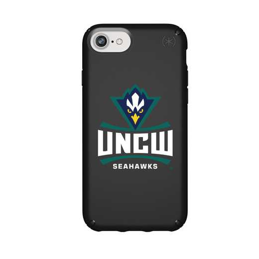 IPH-876-BK-PRE-UNCW-D101: FB UNC Wilmington iPhone 8/7/6S/6 Presidio