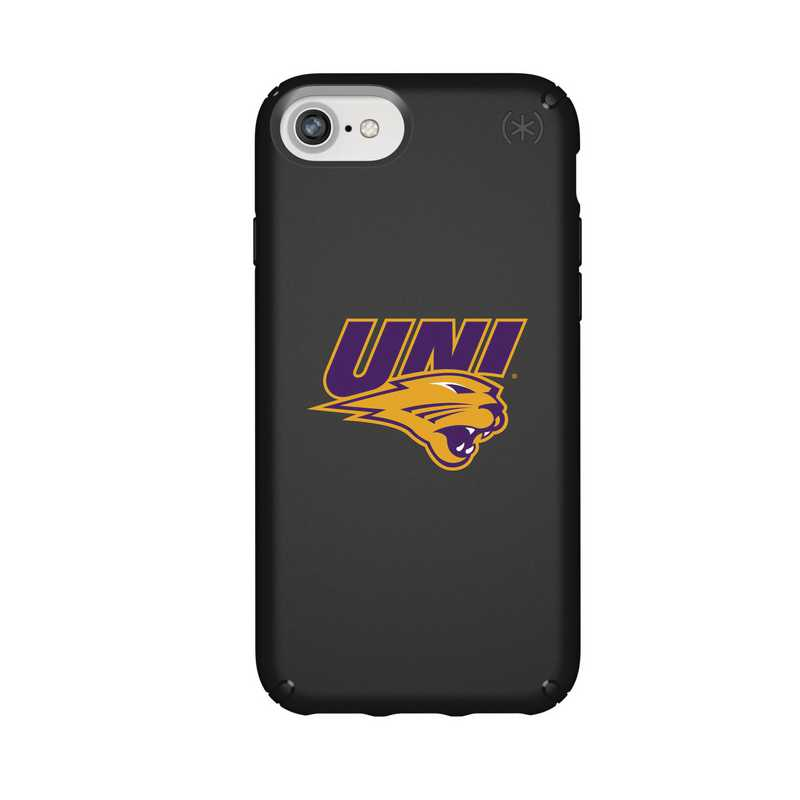 IPH-876-BK-PRE-UNI-D101: FB Northern Iowa iPhone 8/7/6S/6 Presidio