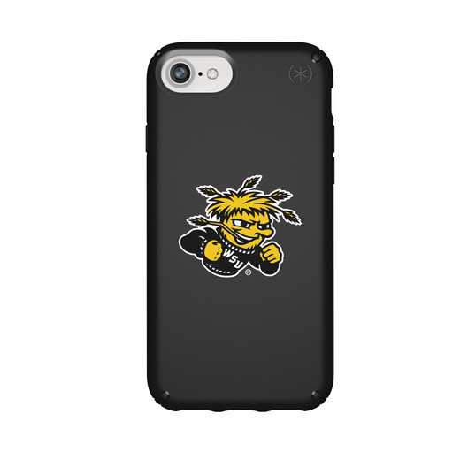 IPH-876-BK-PRE-WSU-D101: FB Wichita St iPhone 8/7/6S/6 Presidio