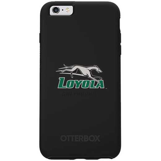 IPH-66S-BK-SYM-LUM-D101: FB Loyola Univ Of Maryland OB SYMMETRY IPN 6/6S