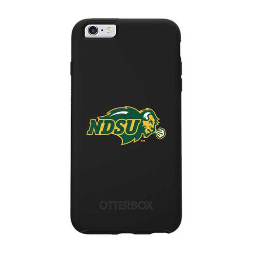 IPH-66S-BK-SYM-NDSU-D101: FB North Dakota St OB SYMMETRY IPN 6/6S