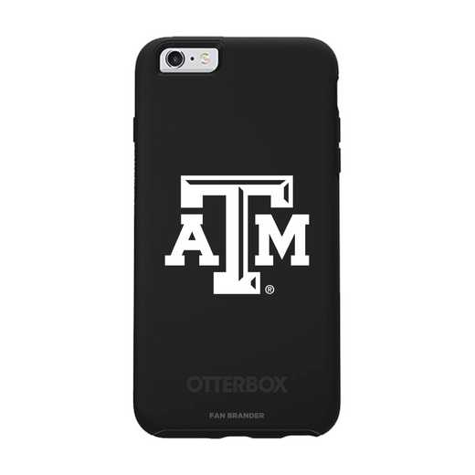 IPH-66S-BK-SYM-TAM-D101: FB Texas A&M OB SYMMETRY IPN 6/6S