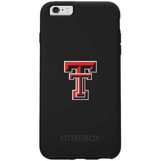 IPH-66S-BK-SYM-TT-D101: FB Texas Tech OB SYMMETRY IPN 6/6S