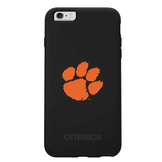 IPH-6SP-BK-SYM-CL-D101: FB Clemson OB SYMMETRY IPN 6 PLUS/6S PLUS