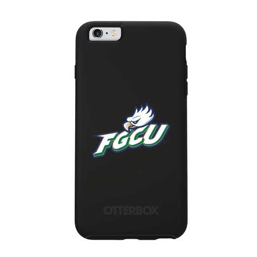 IPH-6SP-BK-SYM-FGCU-D101: FB Florida Gulf Coast OB SYMMETRY IPN 6 PLUS/6S PLUS