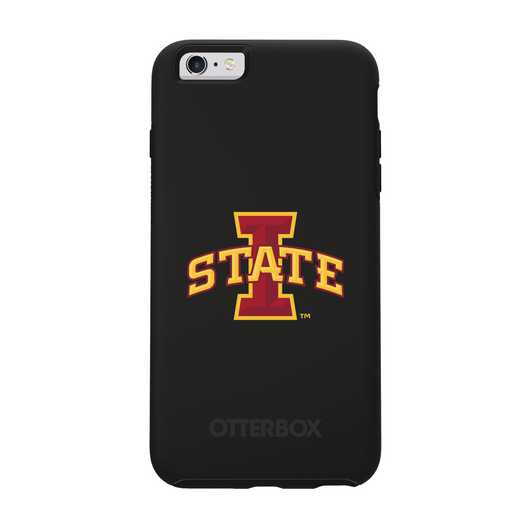 IPH-6SP-BK-SYM-IAS-D101: FB Iowa St OB SYMMETRY IPN 6 PLUS/6S PLUS
