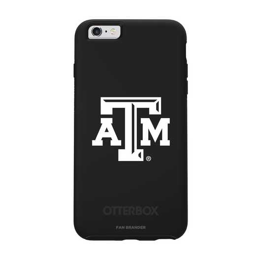 IPH-6SP-BK-SYM-TAM-D101: FB Texas A&M OB SYMMETRY IPN 6 PLUS/6S PLUS