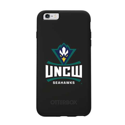 IPH-6SP-BK-SYM-UNCW-D101: FB UNC Wilmington OB SYMMETRY IPN 6 PLUS/6S PLUS
