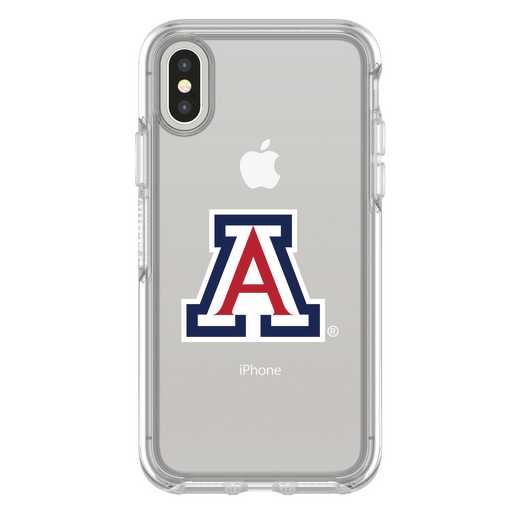IPH-X-CL-SYM-ARZ-D101: FB Arizona iPhone X Symmetry Series Clear Case