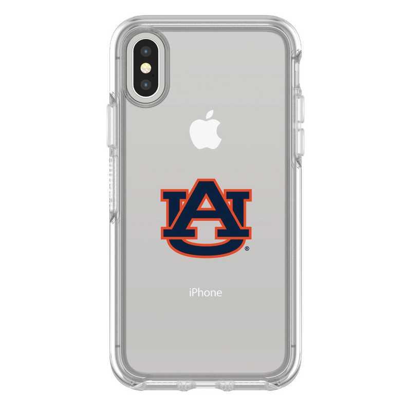 IPH-X-CL-SYM-AUB-D101: FB Auburn iPhone X Symmetry Series Clear Case
