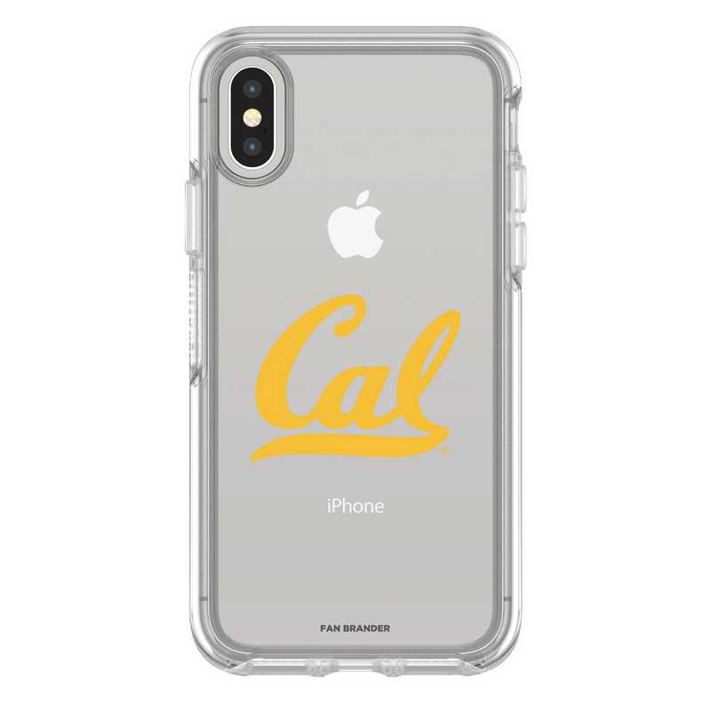 IPH-X-CL-SYM-CAL-D101: FB California iPhone X Symmetry Series Clear Case