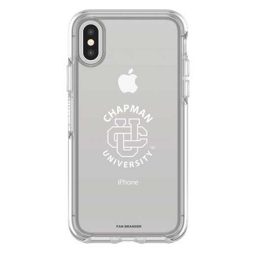 IPH-X-CL-SYM-CHAP-D101: FB Chapman iPhone X Symmetry Series Clear Case
