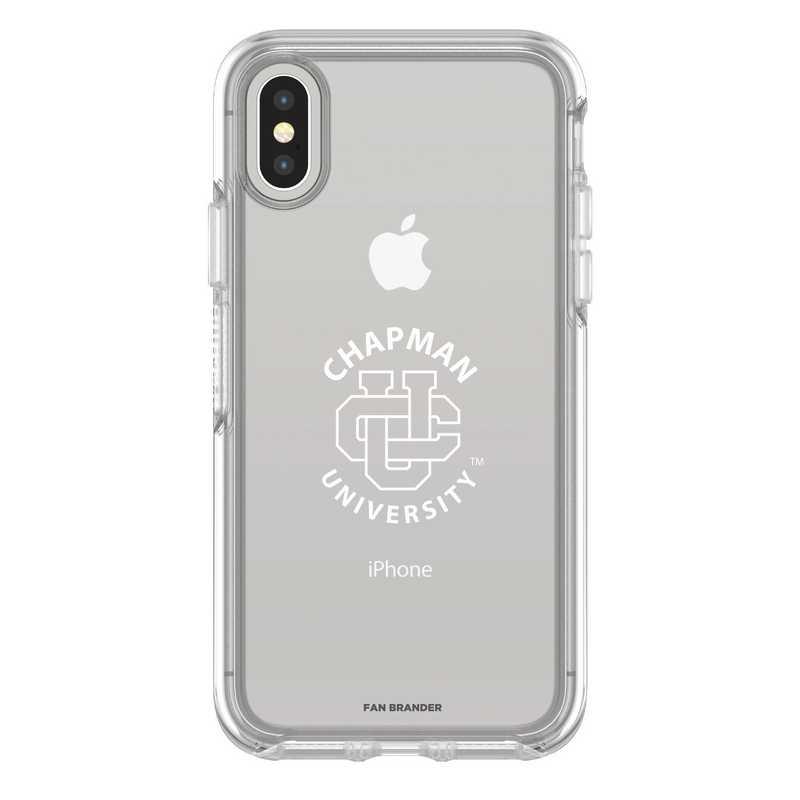 IPH-X-CL-SYM-CHAP-D101: FB Chapman iPhone X Symmetry Series Clear Case