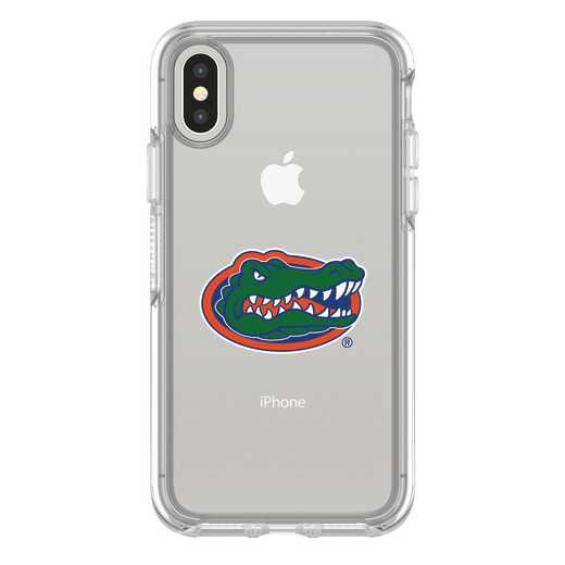 IPH-X-CL-SYM-FLA-D101: FB Florida iPhone X Symmetry Series Clear Case