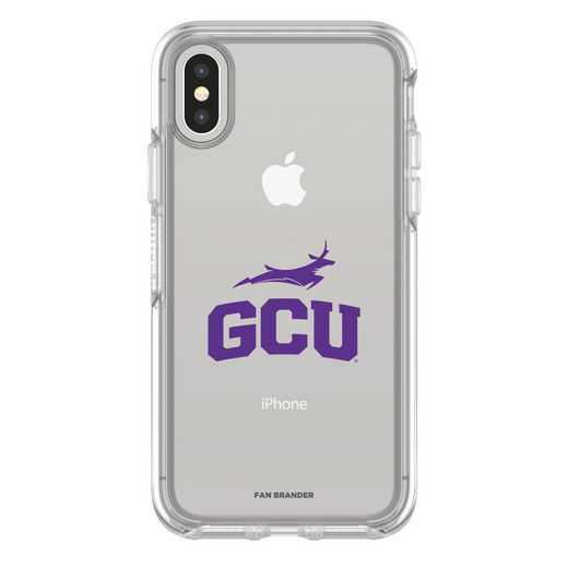 IPH-X-CL-SYM-GCU-D101: FB Grand Canyon iPhone X Symmetry Series Clear Case