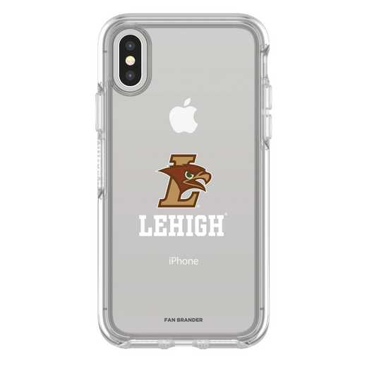 IPH-X-CL-SYM-LEH-D101: FB Lehigh Mountain iPhone X Symmetry Series Clear Case