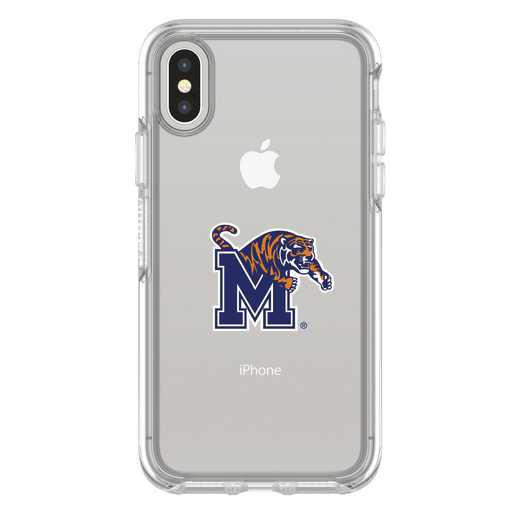 IPH-X-CL-SYM-MEM-D101: FB Memphis iPhone X Symmetry Series Clear Case