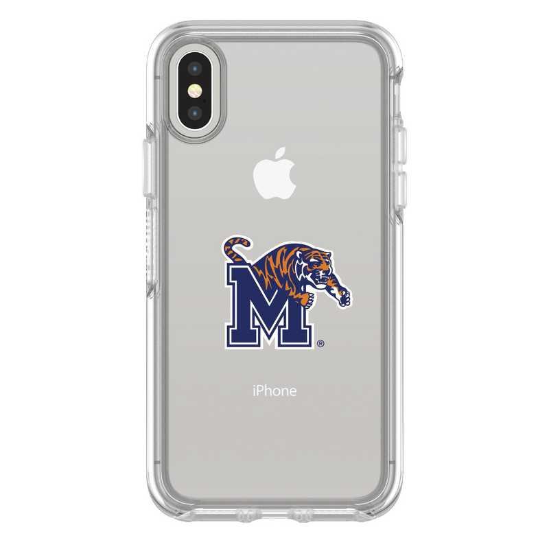 IPH-X-CL-SYM-MEM-D101: FB Memphis iPhone X Symmetry Series Clear Case