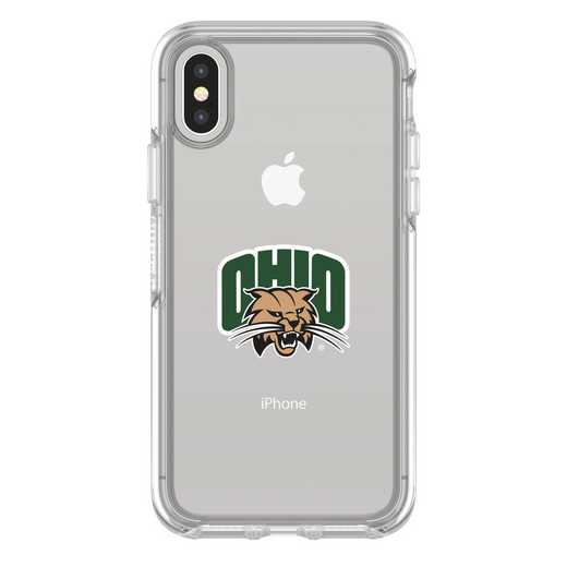 IPH-X-CL-SYM-OHU-D101: FB Ohio iPhone X Symmetry Series Clear Case