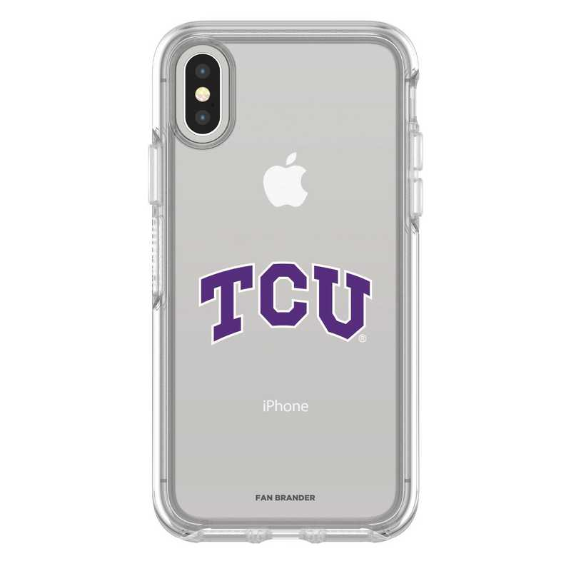 IPH-X-CL-SYM-TCU-D101: FB TCU iPhone X Symmetry Series Clear Case