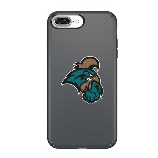 IPH-87P-BK-PRE-CCU-D101: FB Coastal Carolina iPhone 8 and iPhone 7 Plus Speck Presidio