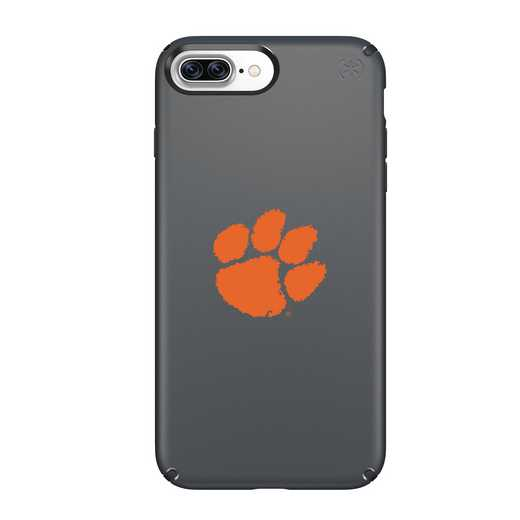 IPH-87P-BK-PRE-CL-D101: FB Clemson iPhone 8 and iPhone 7 Plus Speck Presidio